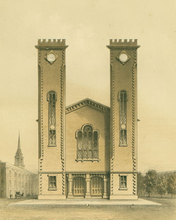 Chapel and Church Architecture, with Designs for Parsonages. George Bowler.