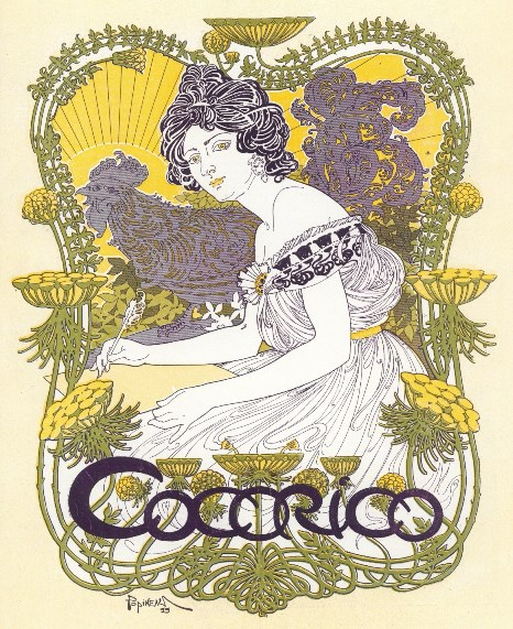 Cocorico. Year 1, no. 1 (Dec. 31, 1898) through year 5, no. 63 (May 1, 1902).