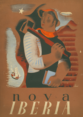 "Revista ""Nova Iberia"". No. 1 (January 1937) through Nos. 3/4 (1937). (All published)."