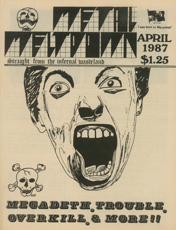 Metal Meltdown. Straight from the Infernal Wasteland. Nos. 1 (April 1987) through 10 (1992) (all published).