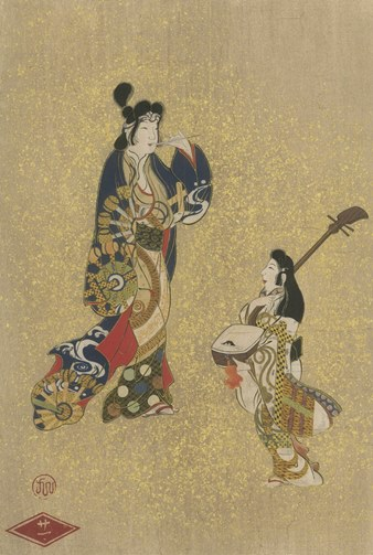 Masterpieces Selected from the Ukiyoye School. With Brief History of the Development of the School, Biographical Sketches of the Artists, and Some Critical Descriptions. Shiichi Tajima, Shiro Katano, Hideo Takamine, Seigei Omura, Joseph King Goodrich.