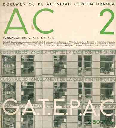 A.C. Revista Trimestral. Documents de Actividad Contemporánea. No. 1 (First Trimester 1931) through No. 25 (June 1937).