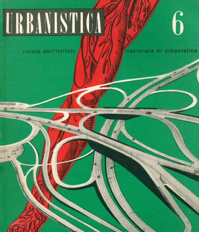 Urbanistica. Rivista dell'Istituto Nazionale di Urbanistica. Year XVIII, No. 1 (July/August 1949) through No. 65 (July 1976).
