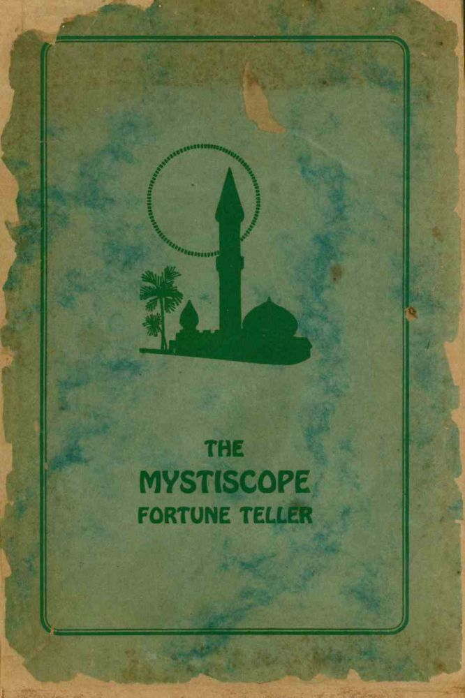 "The ""Mystiscope"" Fortune Teller - The Device That Thinks."