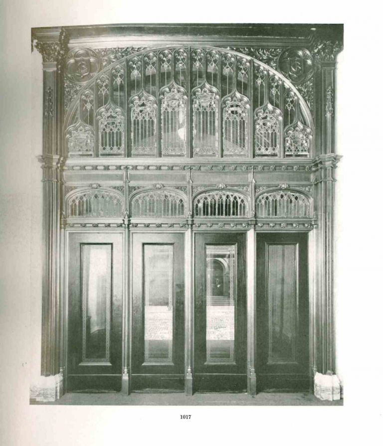 Ornamental Iron & Bronze. Executed by the Winslow Bros. Company, Chicago. Chicago.- The Winslow Bros. Company.