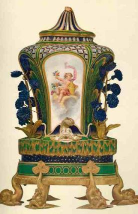 Sevres Porcelain of Buckingham Palace and Windsor Castle. Guy Francis Laking