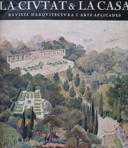 La Ciutat & la Casa: Revista d'Arquitectura i Arts Aplicades. (Subtitle starting with issue 3: Revista D'Arquitectura, Arqueologia, & Bells Oficis.) Year I, no. 1 (January 1925) through Year III, no. 7 (1927) (all published).