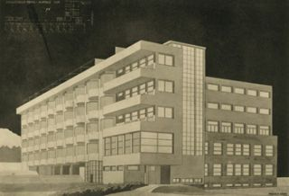 "A Budapesti M. Kir. Jozsef Muegyetem Epiteszhallgatoinak Tervkiallitasa 1930/... Exhibition of Plans Prepared by the Students of the Royal Hungarian ""Joseph"" Technical University in Budapest 1930..."