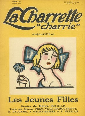 "La Charrette ""Charrie"" Aujourd'hui. Year 1, no. 1 (15 June 1922) through year 2, no. 24 (n.d.,..."