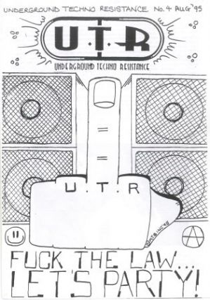 U.T.R.: Underground Techno Resistance. Nos. 1 (February 1995) through 4 (August 1995) (all published).