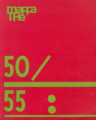 Marcatrè. Rivista de Cultura Contemporanea. Nos. 1 (Nov. 1963) through 66/67 (July 1972) (All Published).
