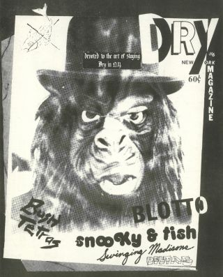 Dry Magazine. Nos. 1 (1979) through 14 (1981) (all published).