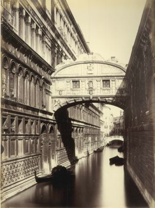 A remarkable collection of 92 oversize original photographic prints of Venice.