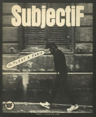 Subjectif. Nos. 1 (Feb. 1978) through 7 (1979) (all published).