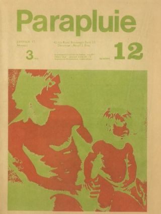 Le Parapluie. No. 1 (November 1970) through No. 13 (special vacances [1973]) (all published