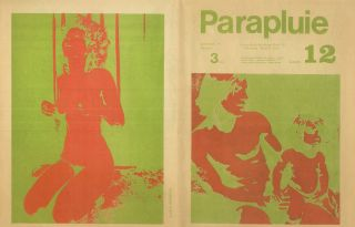 Le Parapluie. No. 1 (November 1970) through No. 13 (special vacances [1973]) (all published).