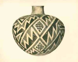 Pueblo Indian Pottery. 50 Reproductions in Color from Specimens in the Famous Collection of the Indian Arts Fund. Kenneth M. Chapman.