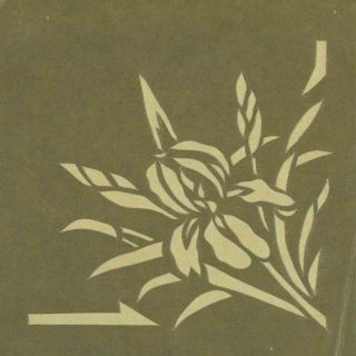 Collection of Art Deco and Art Nouveau French Wall Stencils.