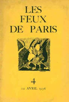 Les Feux de Paris. Nos. 1 (12 December 1935) through 7-8 (12 January 1937) (all published).
