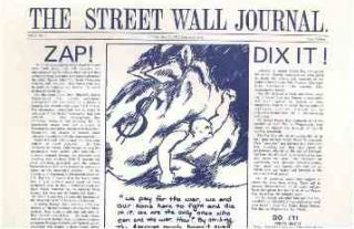 The Street Wall Journal. Vol. I, no. 1 (May 13, 1970) through Vol. I, no. 3 (May 21, 1970) (all published).