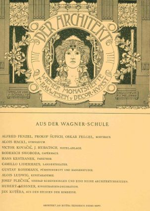 Aus der Wagnerschule 1898, 1899, and 1900. Otto Wagner