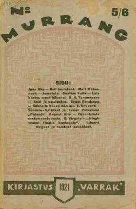 Murrang: Kuukiri. No. 1 (March 1921) through No. 5/6 (August 1921) (all published