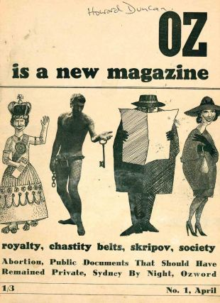 Oz. No. 1 (April 1963) through No. 41 (February 1969) (all published