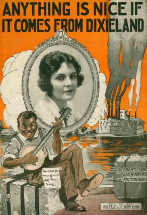 Collection of Early 20th Century Black Americana Sheet Music.