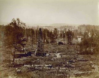 Mather's Historical Oil Region Views of Western Pennsylvania. Part I. Mather's Historical Photographs.
