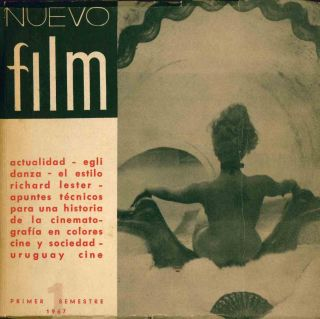 Nuevo Film. No. 1 (1967) through No. 4 (1969) (all published