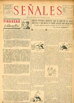 Señales. Le Habla al Pueblo en Su Proprio Idioma. Year I, No. 1 (27 Feb 1935) through Year IV, No. 162 (29 April 1938) (all published).