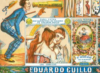 Group of 19th Century Cuban Cigarette Labels.