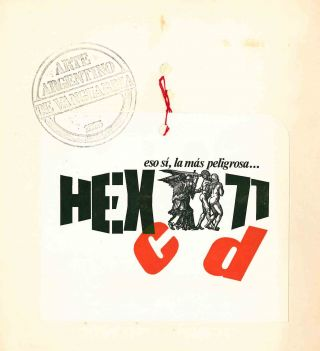 Hexágono 71. No. 1/a (1971) through 13/e (1975) (all published).