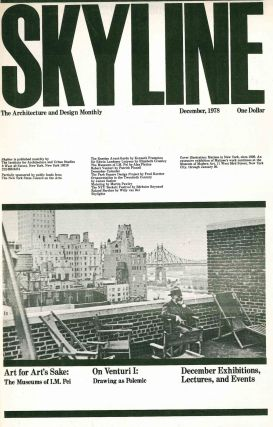 Skyline. The New York Architecture and Design Calendar. No. 1 (1 April 1978) through unnumbered (April 1980).
