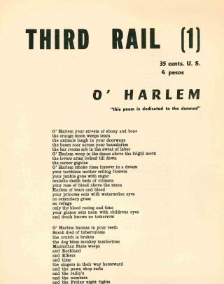 Third Rail. No. 1 (July 1961) through No. 2 (October 1961) (all published).