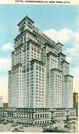 Collection of Vintage New York City Architectural Postcards.
