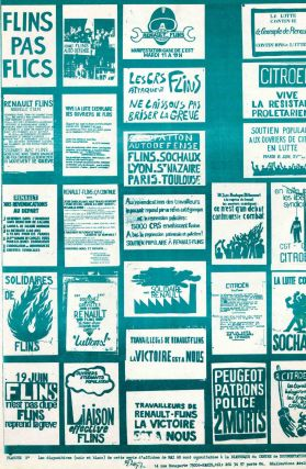 Collection of 11 Prints Reproducing Posters from May and June 1968.