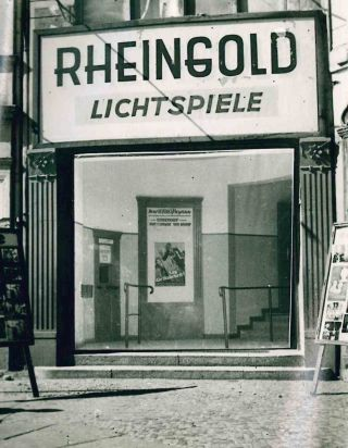 Collection of Photographs of Berlin Post-War Movie Theaters.