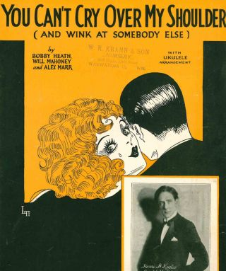 Collection of Early 20th Century Sheet Music.