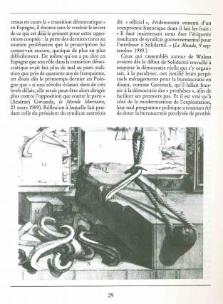L'Encyclopédie des Nuisances. From No. 3 subtitled: Dictionnaire de la déraison dans les arts, les sciences & les métiers. No. 1 (November 1984) through No. 15 (April 1992) (all published).