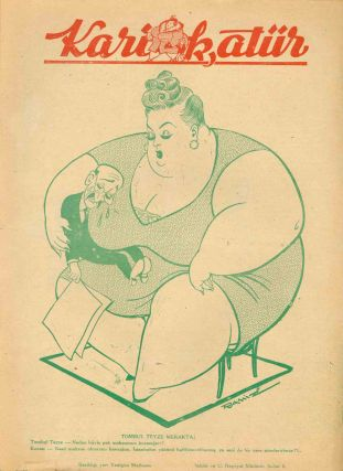 Large Collection of Issues of Karikatür [The Caricature] (1937-1948) and Mizah [Humor] (1947-1949).