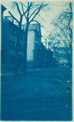 Group of 19th Century Massachusetts Revolutionary War Site Cyanotypes