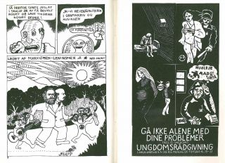 Røde Mor. No. 1 (21 June 1970) through No. 6 (September 1975) (all published).