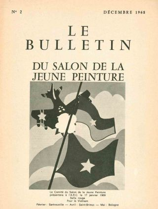 Le Bulletin de la Jeune Peinture. No. 1 (June 1965) through No. 8 (October 1972) (all published