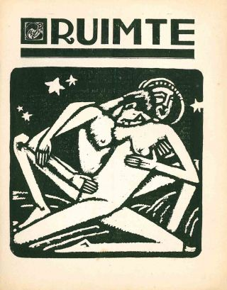 Ruimte. Vol. I, No. 1/2 (1920) through Vol. II, No. 8 (October 1921) (all published