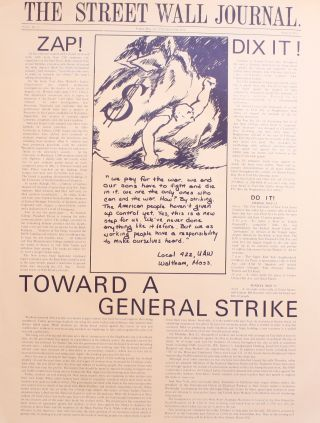 The Street Wall Journal, vol. 1, nos. 1–3 (May 13–21, 1970, all published).