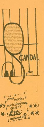 Scandal, nos. 1–3 (of five published).