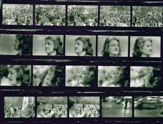 Large Group of Photographs and Contact Sheets from the August 26, 1971 Women's March for Equality.