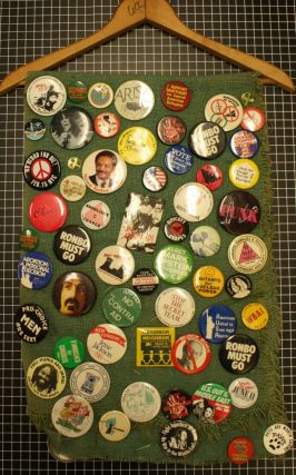 Collection of Approximately 120 1960's-1980's Political Buttons
