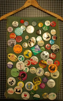 Collection of Approximately 120 1960's-1980's Political Buttons.